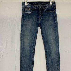 Calvin Klein jeans size 26 women's boyfriend jeans